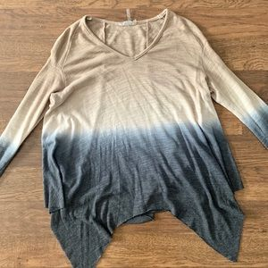 Young Fabulous Broke Gradient V-Neck Sweater